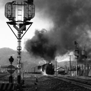 昭和48年蒸気機関車D51 函館本線大沼駅発車