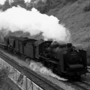 昭和48年蒸気機関車D6046 筑豊本線中間~折尾間で撮影