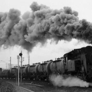 昭和48年蒸気機関車C11215 小牛田駅から石巻線に向けて