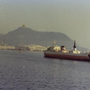 昭和53年頃函館港の連絡船