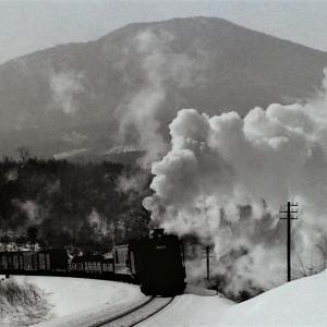 昭和46年蒸気機関車38688 先輩が花輪線で撮影した写真