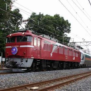 EF81133牽引カシオペア(今頃)