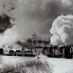 昭和46年蒸気機関車38688 先輩が撮影した花輪線の重連