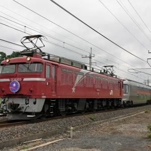 EF81133牽引カシオペア他(今頃)