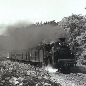 昭和48年蒸気機関車C5547 宗谷本線塩狩峠で撮影