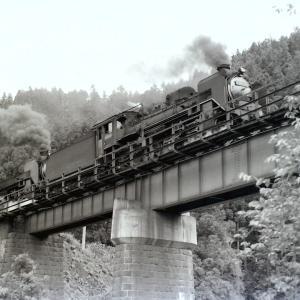 昭和47年蒸気機関車C58215 陸羽東線中山平で重連を