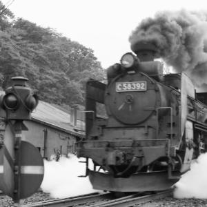 C58392号機網走駅発車を撮影