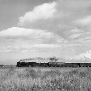 昭和48年蒸気機関車D51413 沼ノ端付近でギースル煙突を撮る