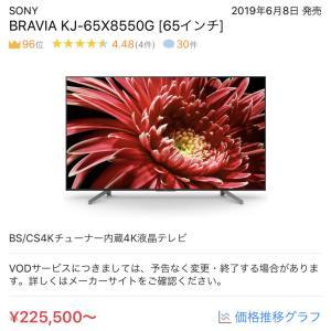 テレビを買うならネットか店舗か。