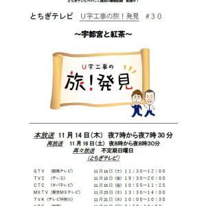 Y's tea TV放送のお知らせ