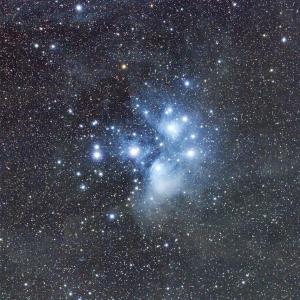 沈みゆくシリーズ<昴>プレアデス星団(M45)
