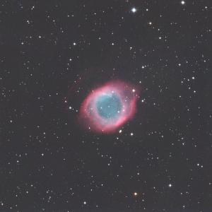 みずがめ座のらせん星雲(NGC7293)