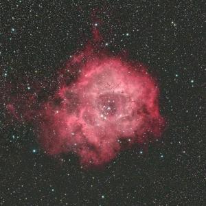 いっかくじゅう座のバラ星雲(NGC2237-9、2246、Caldwell49))