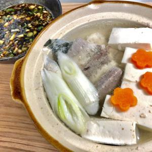【魚の旨味を一滴まで】魚あらの湯豆腐