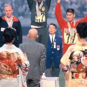 オリンピックの表彰式