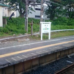 奥羽本線の駅紹介 第13回中川駅