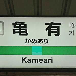 常磐緩行線の駅紹介 第2回亀有駅1