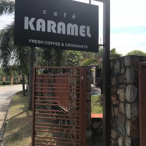 【Cafe KARAMEL】タイガーズーちょっと奥の、ムーバーンカフェ