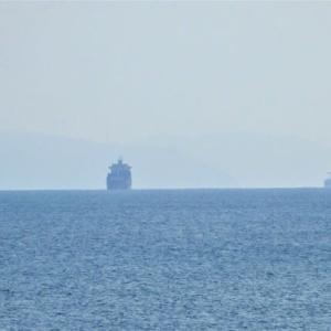 志布志湾の遠景