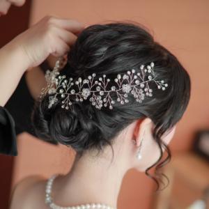 美容師からブライダル業界へ転職!花嫁へのヘアセットはやりがいたくさん!