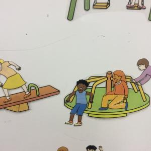 1月 Things in a playground