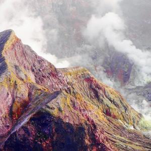 ニュージーランド|ホワイトアイランドが大噴火🌋!!