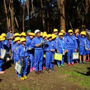 潮来市立牛堀小学生の「島崎城跡見学会」が開催されました。