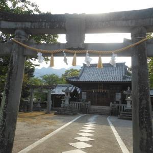 八幡神社と、島原港と、三池港閘門と ~長崎県島原市の神社・港