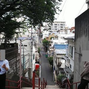 須賀神社男坂・女坂と、妙行寺と ~東京都新宿区の坂道・寺院