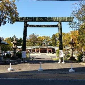 三重県護国神社と、津偕楽公園(その1)D51蒸気機関車と ~三重県津市の神社・公園・SL