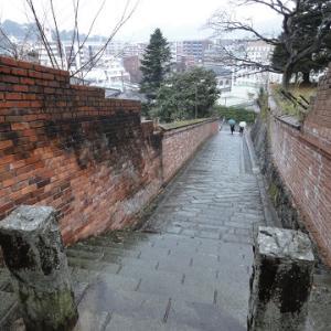 長崎の坂道と、オランダ坂通りと、東山手町の洋館と ~長崎市の坂・街並・史跡