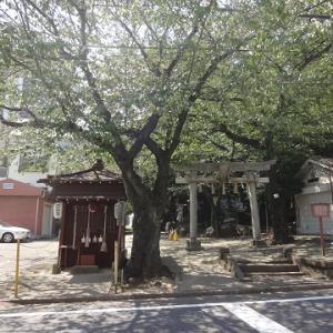 子易神社と、胸突地蔵尊と ~東京都板橋区の神社・地蔵尊