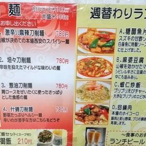 「江南酒家」麻辣刀削麵 ~東京都中央区京橋の中華料理店