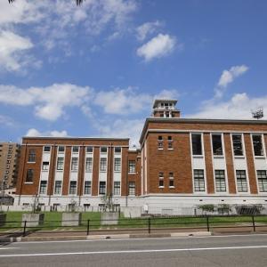 旧戸畑市役所と、浅生一号公園と ~福岡県北九州市戸畑区の歴史的建造物・公園・街並