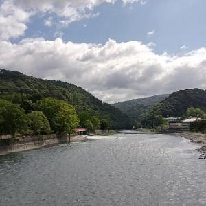 宇治川と、橘橋と、朝霧橋と ~京都府宇治市の河川・橋・風景