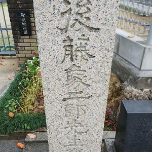 鏡川と、天神大橋と、後藤象二郎誕生地と ~高知市の河川・橋・史跡