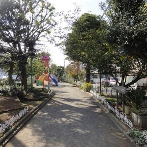 川崎温泉由来碑と、南河原公園と、旧南武鉄道貨物線軌道跡と、静翁寺と ~神奈川県川崎市の史跡・街並
