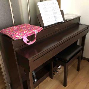 ピアノが届きました