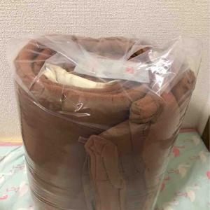 先日買った掛け布団使ってみました