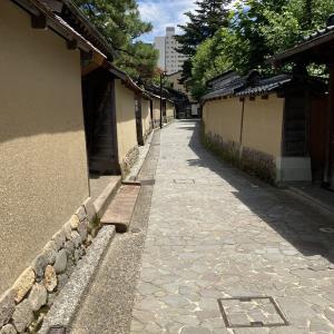 金沢さんぽ 武家屋敷跡