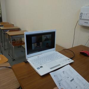 web授業スタート