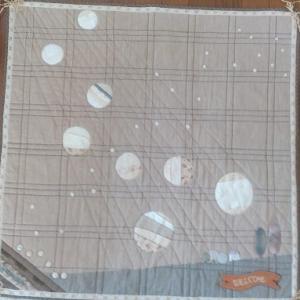 タペストリーの型紙制作