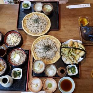 小鹿野 古式蕎麦 観音茶屋でランチ!