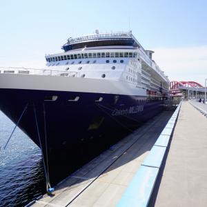 セレブリティミレニアムの船内見学会に行ってきました。