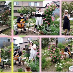 薔薇のお庭で『フルート&オカリナミニコンサート』