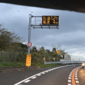 2019/12/14 大島大橋の風速。