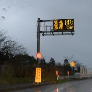 2020/02/22 大島大橋の風速