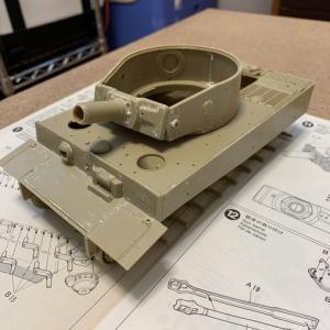 タイガー戦車 キャタピラー製作