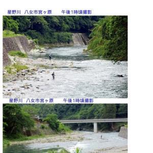 松浦 志佐川に川見に