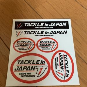 タックルインジャパン ステッカー